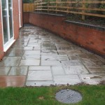 New build housing - block paving